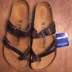 Birkenstock Mayari Sandals, Havana, Size 42